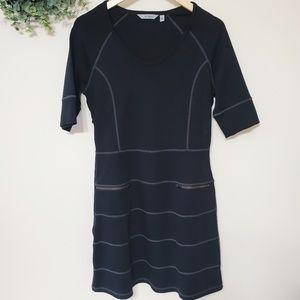 Athleta Black Athleisure Dress Size Medium